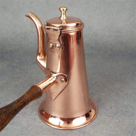 georgian chocolate pot retinning copper pots pans