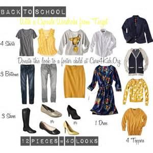 12-Piece Wardrobe Capsule