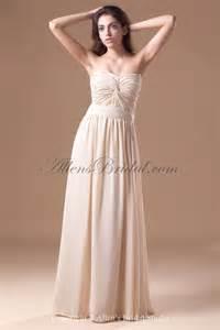 floor length bridesmaid dresses allens bridal chiffon sweetheart neckline floor length column prom dress