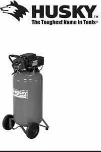 Husky Air Compressor D28752 User Guide