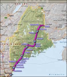 Interstate 95 Map Maine