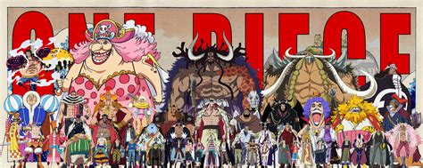 piece poster   badass characters onepiece