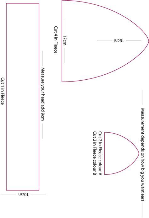 Fleece Hat Template by Fleece Hat Pattern By Mokulen22 On Deviantart