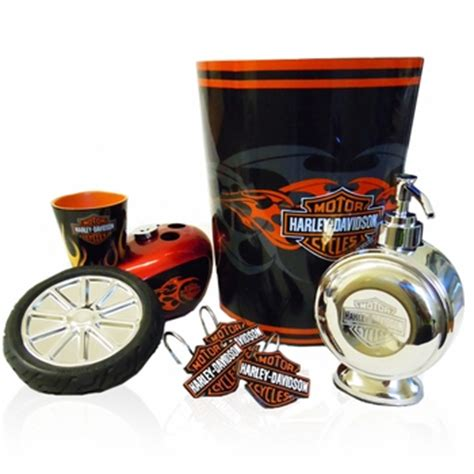 Harley Davidson Bathroom Themes by Harley Davidson Bath Accessories