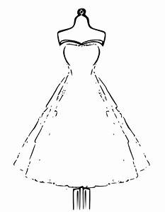 Coloriage robe de soiree colouring pages for Coloriage robe