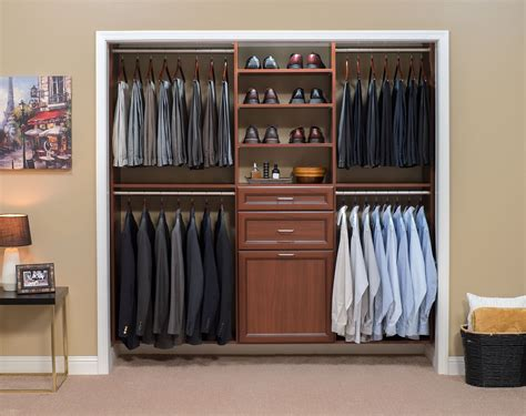 small living room color ideas reach in closet warm cognac with premier drawer in