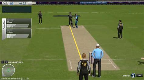 ashes cricket 2013 pc gameplay worst youtube