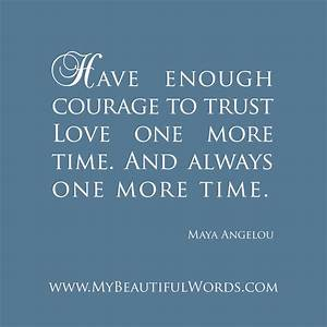 Maya Angelou Quotes About Love. QuotesGram