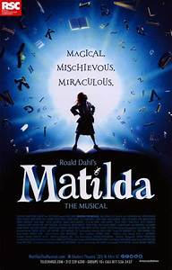 Matilda (Broadway) Movie Posters From Movie Poster Shop
