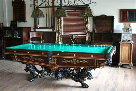 used pool tables michigan 1880 rosewood monarch marschak 39 s antique brunswick