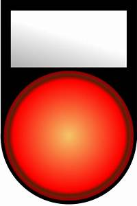 Voyant Volant Rouge : free clipart voyant rouge allume red light on ~ Gottalentnigeria.com Avis de Voitures