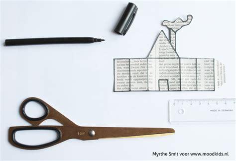 Huis Versieren Voor Sinterklaas by Je Huis Versieren Voor Sinterklaas Met Deze Krantenhuisjes