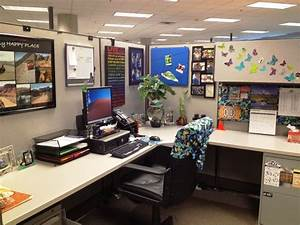 Office Cubicle Idea Office Shape Desk The Benefit Of Adding Some Cubicle Décor On Your Cubicle Workstation