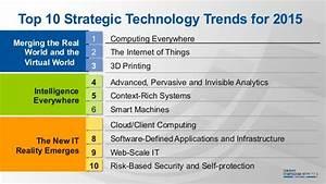 Gartner: Top 10 Technology Trends 2015