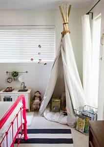 Zelt Bett Kinder : 50 wohnideen kinderzimmer wie sie den raum optimal ausnutzen ~ Michelbontemps.com Haus und Dekorationen