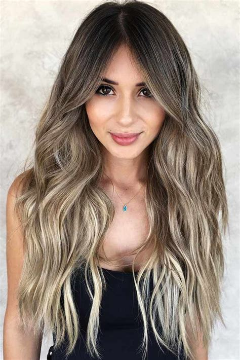 trendy choices  brown hair  highlights brown