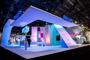 Philips a crisp white foundation showed off philips for Trade show booth design ideas