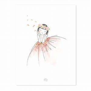 Kinderbettwäsche 100x135 Mädchen : lilipinso poster kleines m dchen tr umt bei kinder r ume ~ Orissabook.com Haus und Dekorationen