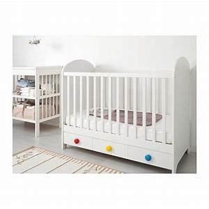 Ikea Tour De Lit : gonatt lit b b blanc chambre b b pinterest lit b b ikea bebe et lit bebe ~ Teatrodelosmanantiales.com Idées de Décoration