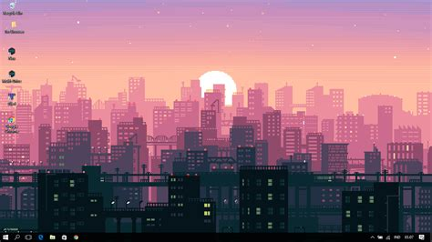 aesthetic city wallpaper wallpaper engine