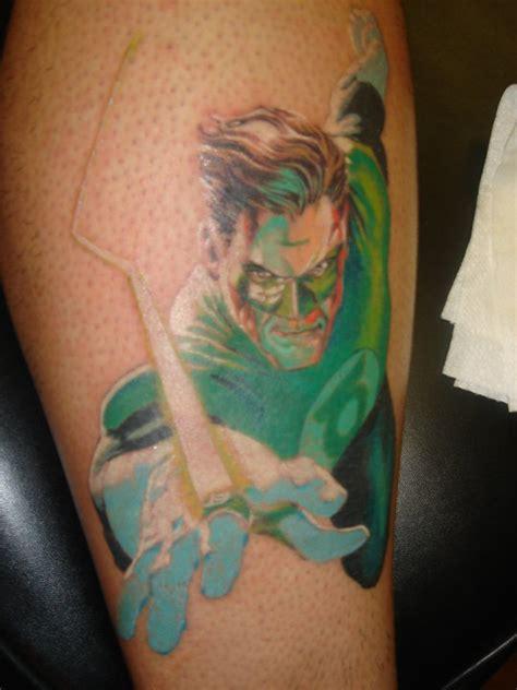 green lantern tattoos