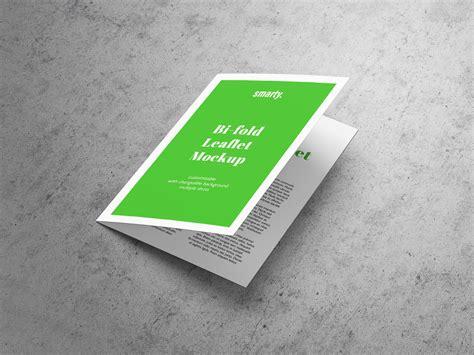 A4 Bifold Brochure Mockup Free A5 Bi Fold Brochure Leaflet Mockup Psd Mockups