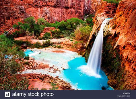 Havasupai Falls Grand Canyon Stock Photos And Havasupai