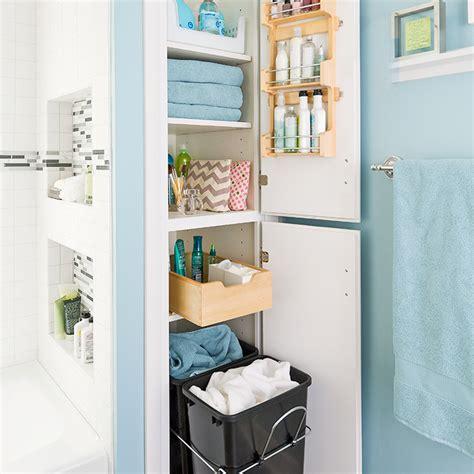 bathroom closet shelving ideas and easy storage ideas
