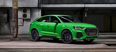 audi rsq3 2020 audi rsq3 breeds brutally sportback version
