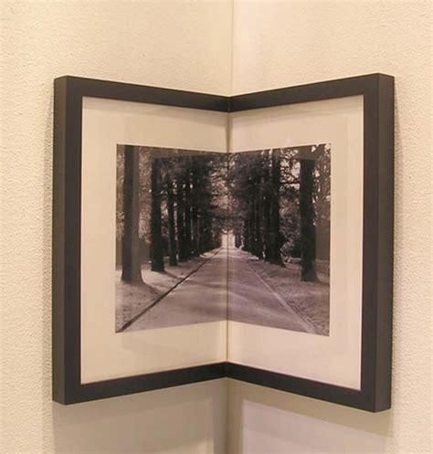 corner decorating idea cool picture frames diy picture