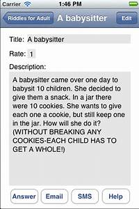 App Shopper Funny Riddles For Kids And Adultsbest
