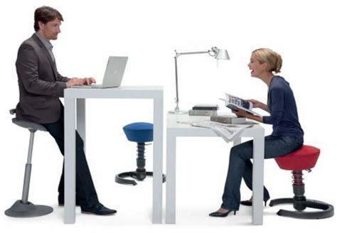 active sitting ergonomic chairs for height adjustable work