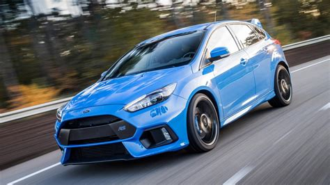 We Rode Shotgun In The New 345bhp Ford Focus Rs. Yes, It