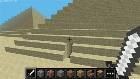 create  pyramid  minecraft  python