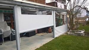 Balkon Windschutz Durchsichtig : wetterschutzrollos hersteller in d und pl ~ Markanthonyermac.com Haus und Dekorationen