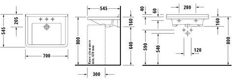 hauteur evacuation meuble salle de bain suspendu