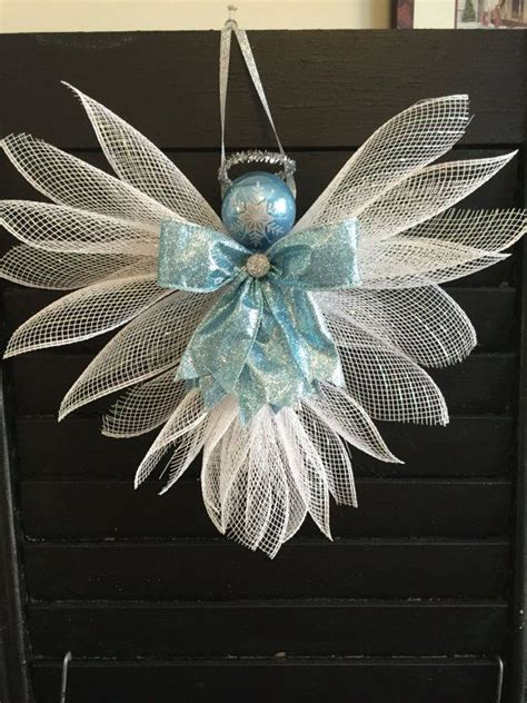 large angels deco mesh assorted colors beach wreaths