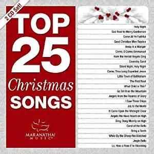 various artists top 25 christmas songs amazon com music