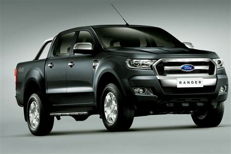 Updated Pickup Truck Ford Ranger 2015 2016 with new Design