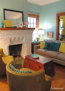 Bright colors for a historic bungalow eclectic living for Bright colored living rooms