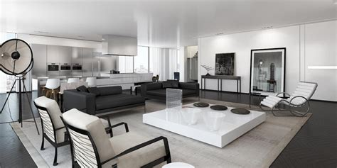 lade da salotto moderne 15 salones en blanco y negro decorar net