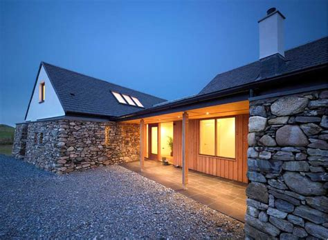 coll house scotland residential hebrides building  architect