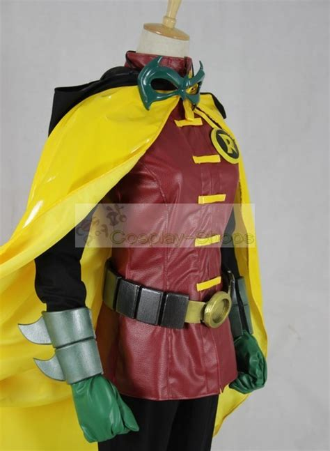 custom cheap batman damian wayne robin full cosplay costume  batman robin  sale