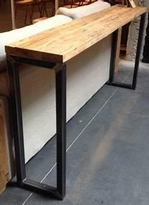 Console Derriere Canapé : janie morris home pied table acier d co maison et ~ Melissatoandfro.com Idées de Décoration