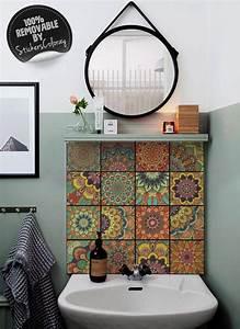 Spritzschutz Haus Material : talavera ceramic tiles damask pack of 24 traditional portuguese backsplash decal lisbon ~ Frokenaadalensverden.com Haus und Dekorationen