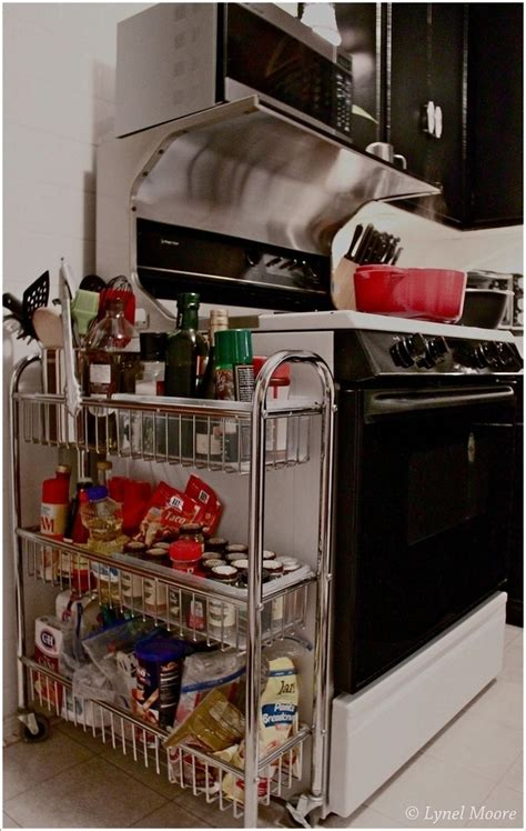 ingenious storage hacks   tiny kitchen