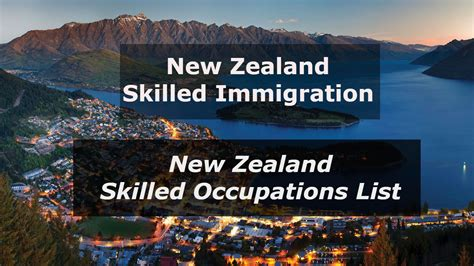 » New Zealand Skilled Occupations List  New Zealand Skilled Immigration