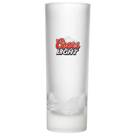 coors light glasses coors light frosted half pint glasses ce 10oz 285ml