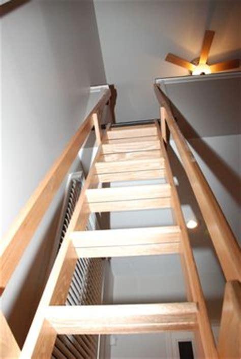 handmade loftlibrary ladder  belak woodworking llc