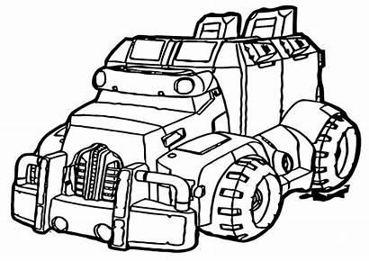 Rescue Coloring Bots Rescuebots Transformers